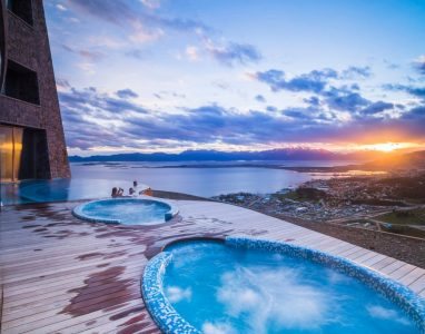 Outdoor-swimming-pool-and-jacuzzi-at-sunset-Hotel-Arakur-Ushuaia-Resort-and-Spa-Ushuaia-Tierra-del-Fuego-Patagonia-Argentina-3-1024×684